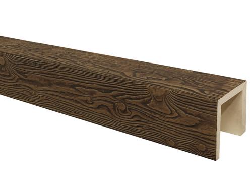 Heavy Sandblasted Faux Wood Beams BAQBM040040120RW30NN