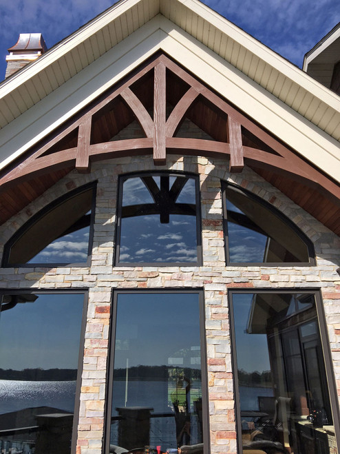 Woodland Faux Wood Arched Beams