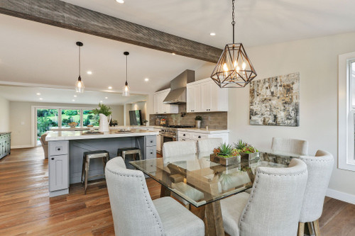 Reclaimed Faux Wood Arched Beams