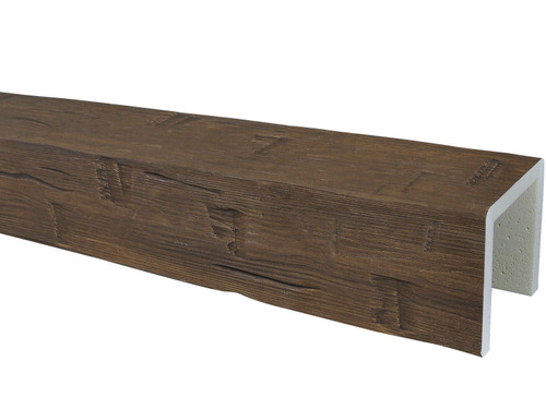 Hand Hewn Faux Wood Beams BAWBM070080168DW30NN