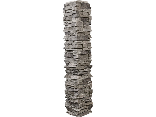 Colorado Dry Stack Stone Split Column Wrap - Narrow