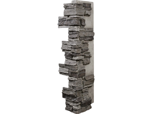 Colorado Dry Stack Stone Outside Corner - Interlocking, Tall