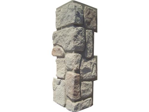 Hampton Cobblestone Stone Outside Corner - Interlocking