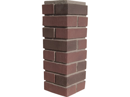 Traditional Brick Outside Corner - Flush