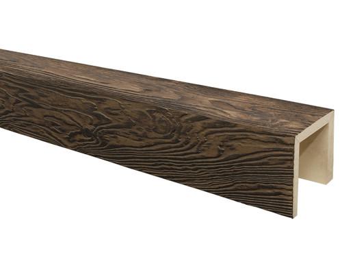 Heavy Sandblasted Faux Wood Beams BAQBM080080192BM30NN