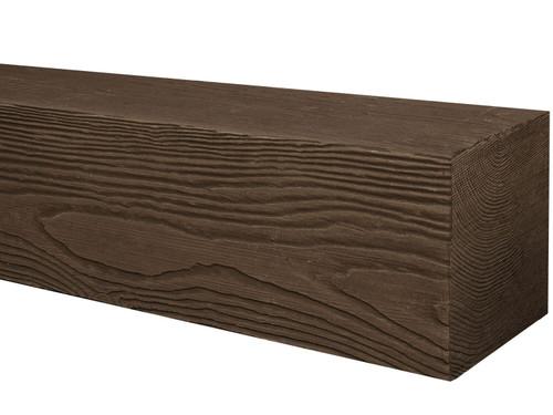 Heavy Sandblasted Faux Wood Mantels BAQMA040040048DWN