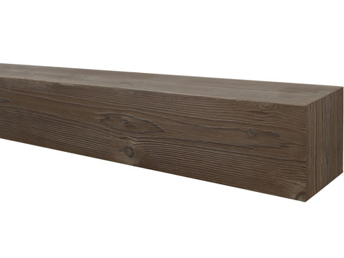 Wire Brushed Wood Mantel BACWM040040072CO