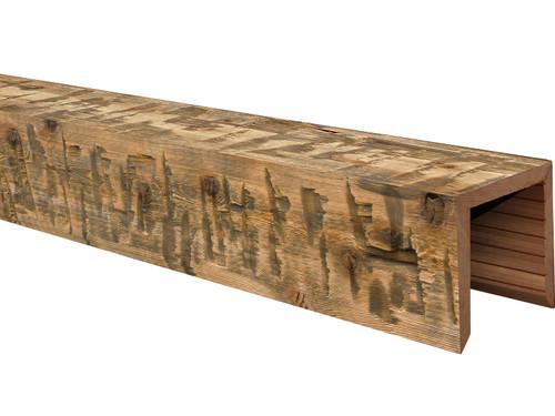 Heavy Hand Hewn Wood Beams BANWB060060204RN30BNO