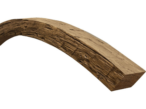 Rough Hewn Faux Wood Arched Beams BBGAB075075120AW40N640N