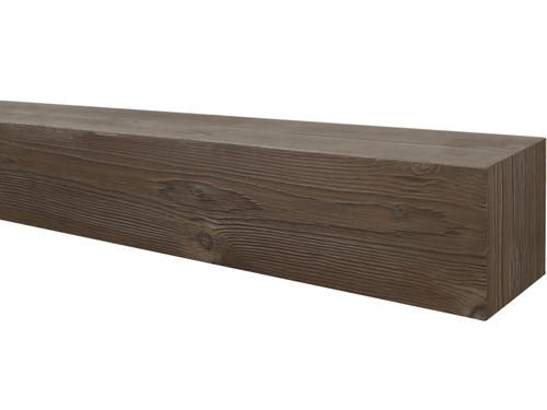 Wire Brushed Wood Mantel BACWM070040060WN