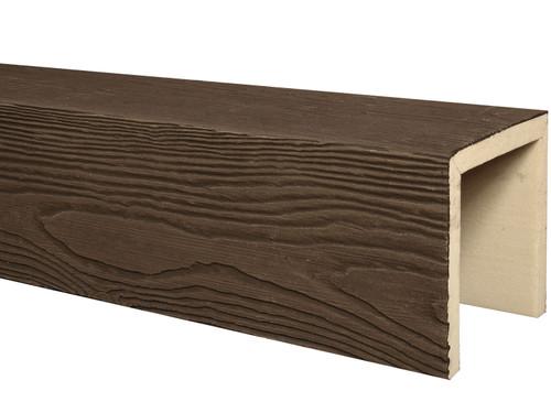 Heavy Sandblasted Faux Wood Beams BAQBM040040288RW30NN