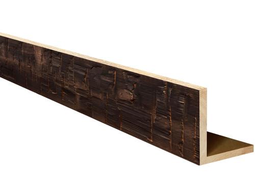 Heavy Hand Hewn Wood L-Header BANWL040040120CHNNNNO