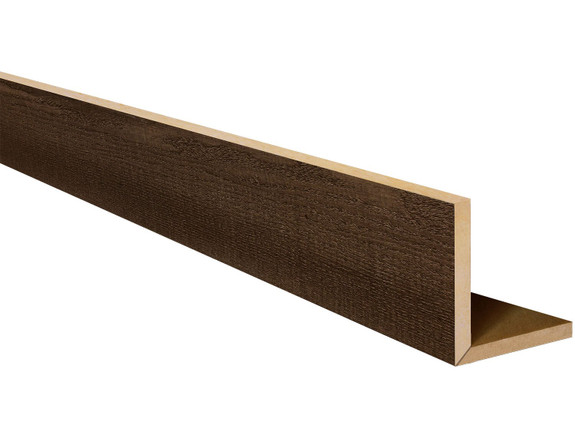 Resawn Faux Wood L-Headers BBELH080080132AQNNN