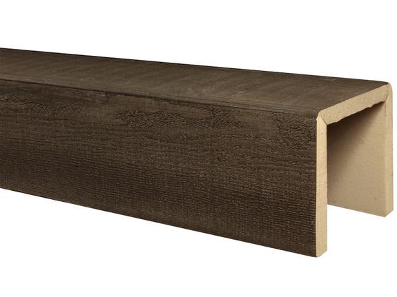 Resawn Faux Wood Beams BBEBM080080120RW30NN
