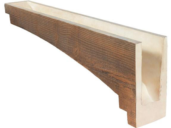 "Resawn Faux Wood Corbel - 6""x43""x13"" - Crown Cove"