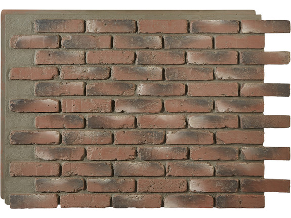 Old Chicago Brick Wall Panel