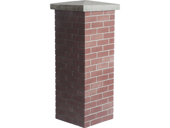 Carlton Traditional Brick Column Sleeve - Medium
