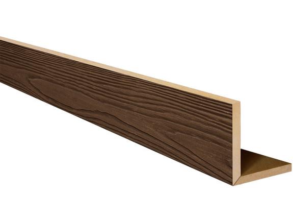 Heavy Sandblasted Faux Wood L-Headers BAQLH070070180AQNNN