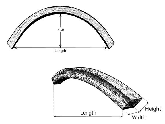 Beachwood Faux Wood Arched Beams