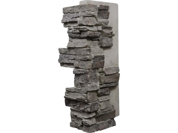 Colorado Dry Stack Stone Outside Corner - Interlocking