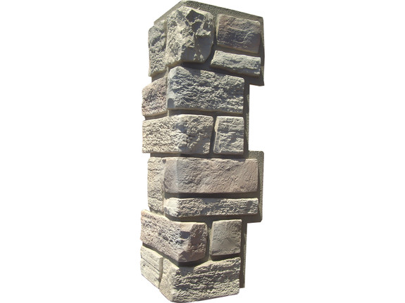 Lehigh Cobblestone Stone Outside Corner - Interlocking