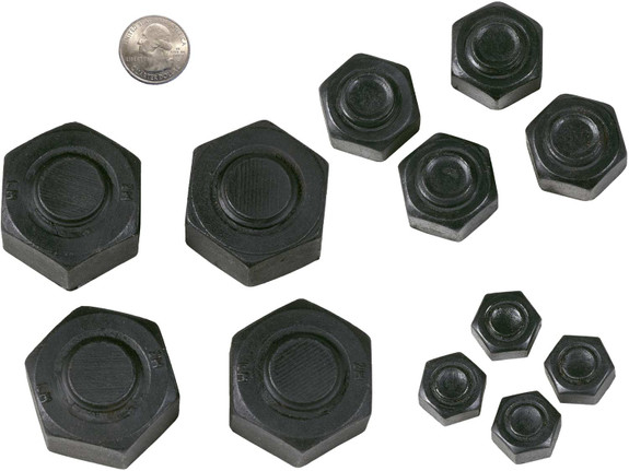 Loose Faux Iron Nuts