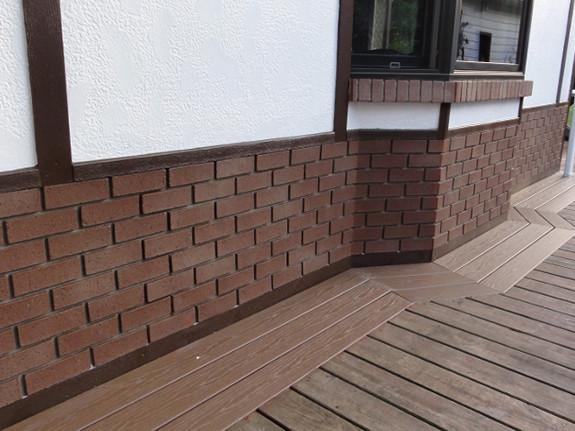 Traditional Brick Outside Corner - Flush