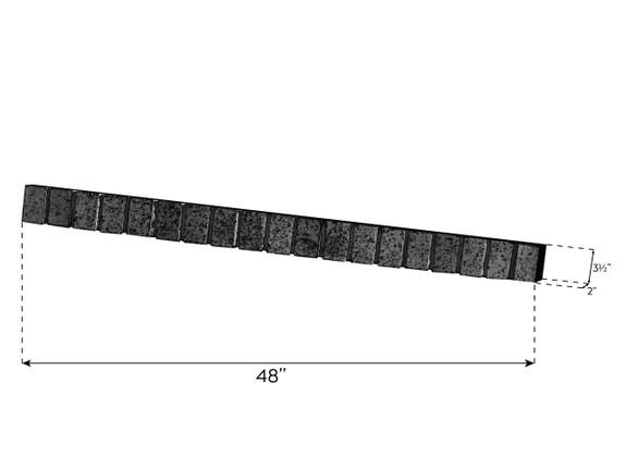 Traditional Brick Ledger