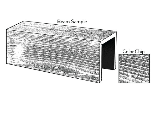 Resawn Faux Wood Sample