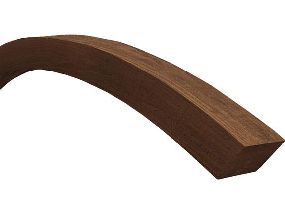Resawn Faux Wood Arched Beams BBEAB080080120GP40N160N