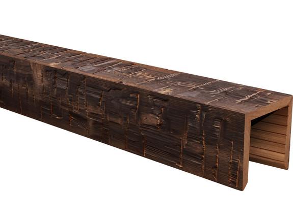 Heavy Hand Hewn Wood Beams BANWB060060120CH30NNO