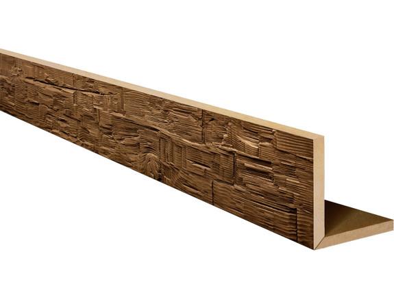Rough Hewn Faux Wood L-Headers BBGLH080060156AUNNN