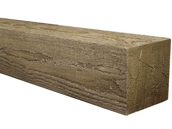 Rough Sawn Faux Wood Mantels BAJMA040040048LEN