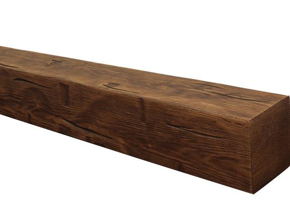 Hand Hewn Faux Wood Mantels BAWMA080080060RWN