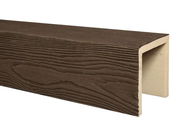 Heavy Sandblasted Faux Wood Beams BAQBM040040120RW40NN