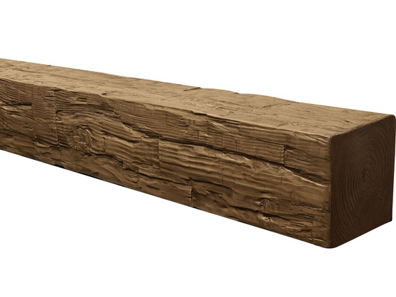 Rough Hewn Faux Wood Beams BBGBM090040216OA30NN