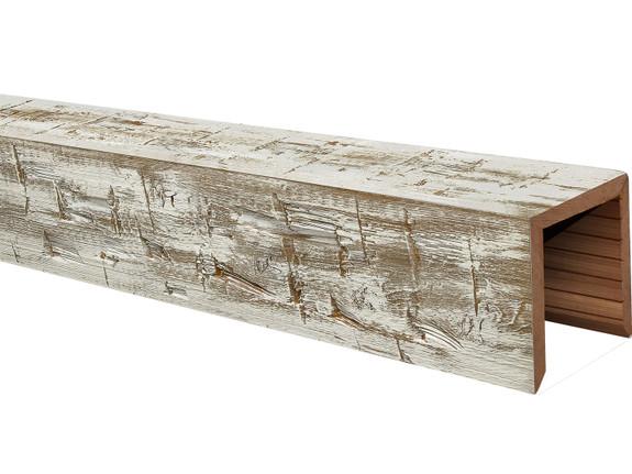 Heavy Hand Hewn Wood Beams BANWB040040120WW30NNO