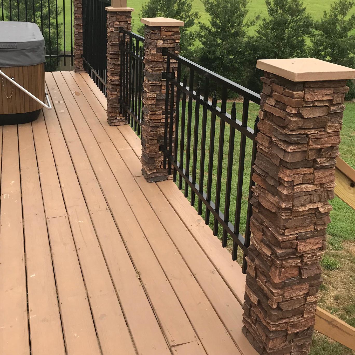 installing porch columns