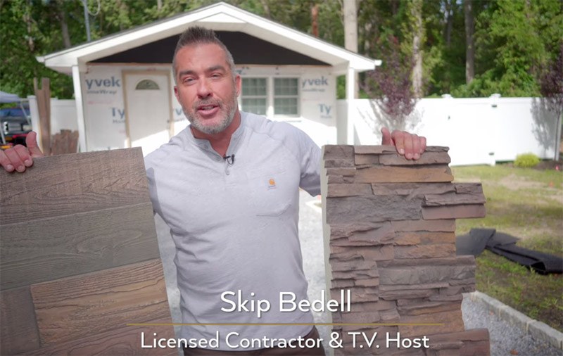 Skip Bedell Faux Panel exterior installation