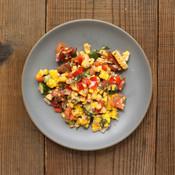 Roasted Corn & Tomato Side Salad