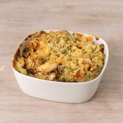 Herb and Parmesan Crusted Mac and Cheese