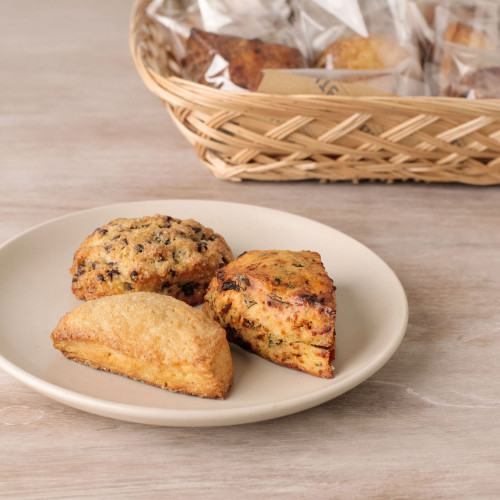 Sweet and Savory Mini Scone Basket