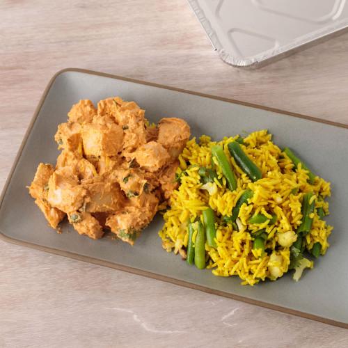 Chicken Korma with Biryani