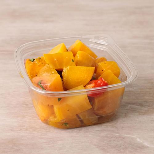 Roasted Golden Beet & Stone Fruit Side Salad