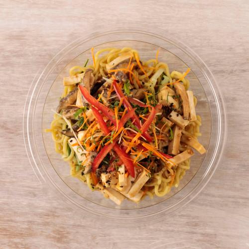Tofu Ramen Noodle Bowl