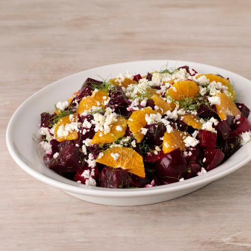 Red Beet, Orange & Fennel Salad