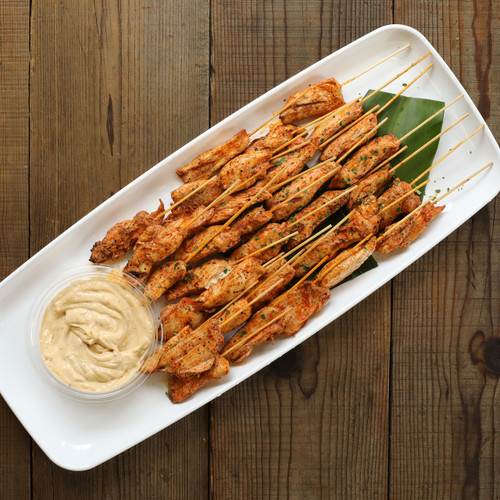 Ancho Chile Chicken Skewers
