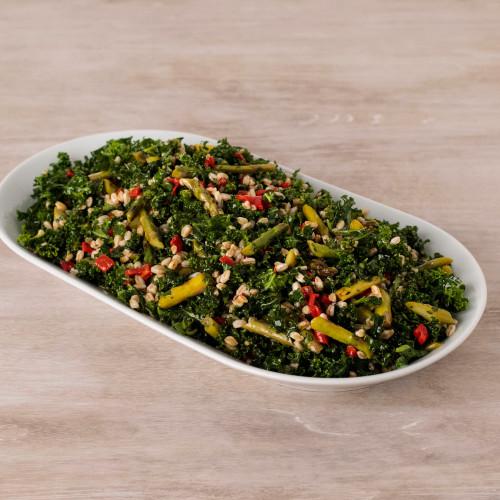 Farro, Asparagus, & Kale Salad