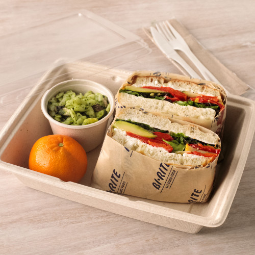 Goat Cheese & Grilled Vegetable Sandwich Boxed Lunch