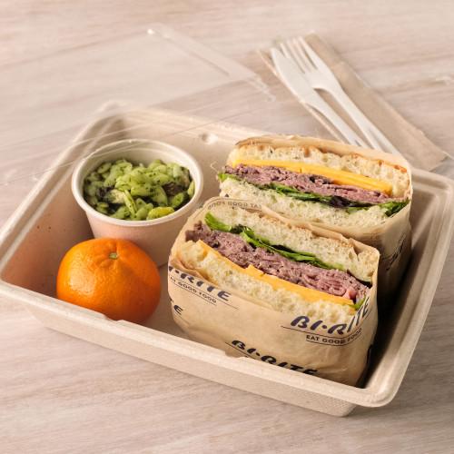 Roast Beef & Cheddar Sandwich Boxed Lunch